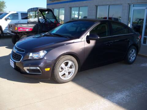 2015 Chevrolet Cruze for sale at Tyndall Motors in Tyndall SD