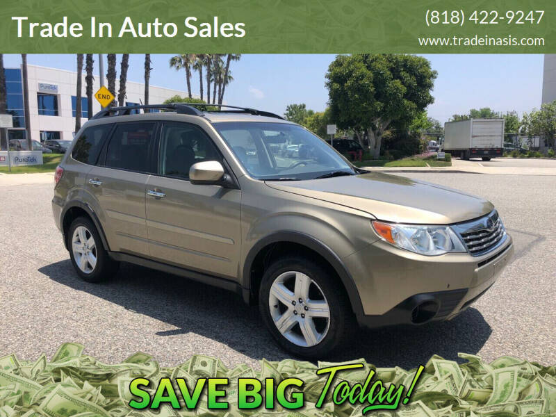 2009 Subaru Forester for sale at Trade In Auto Sales in Van Nuys CA