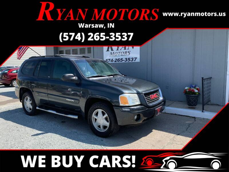 2003 GMC Envoy for sale at Ryan Motors LLC in Warsaw IN