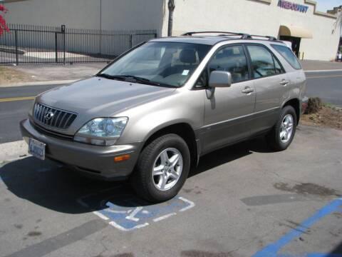 2002 Lexus RX 300 for sale at M&N Auto Service & Sales in El Cajon CA