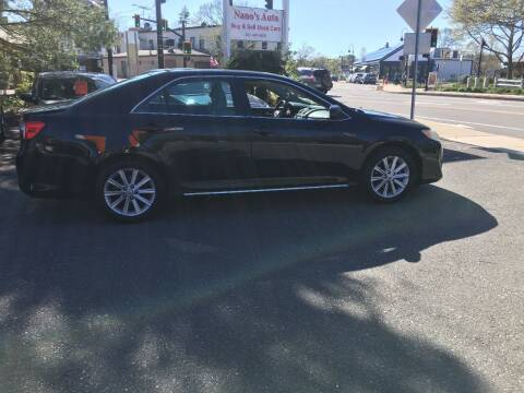 2012 Toyota Camry for sale at Nano's Autos in Concord MA