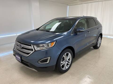2018 Ford Edge for sale at Kerns Ford Lincoln in Celina OH