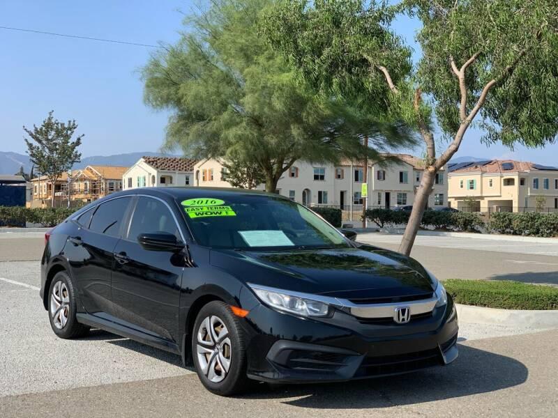 2016 Honda Civic for sale at Esquivel Auto Depot in Rialto CA
