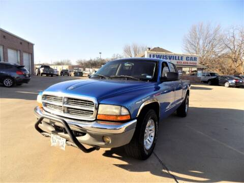 2001 Dodge Dakota for sale at Lewisville Car in Lewisville TX