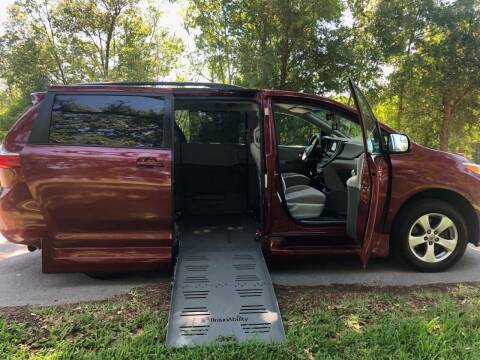 2016 Toyota Sienna for sale at Diversified Auto Sales of Orlando, Inc. in Orlando FL