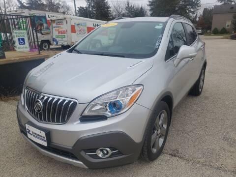 2014 Buick Encore for sale at AMAZING AUTO SALES in Marengo IL
