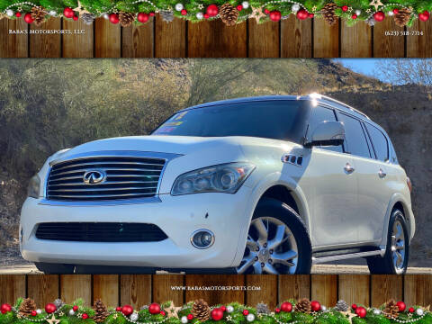 2012 Infiniti QX56 for sale at Baba's Motorsports, LLC in Phoenix AZ