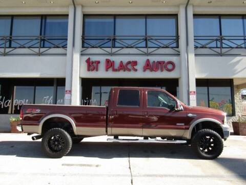 2006 Ford F-350 Super Duty for sale at First Place Auto Ctr Inc in Watauga TX