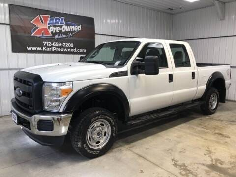2016 Ford F-250 Super Duty for sale at Karl Pre-Owned in Glidden IA