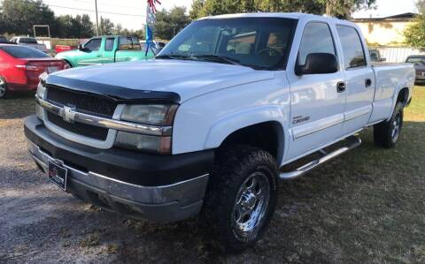 2003 Chevrolet Silverado 2500HD for sale at MISSION AUTOMOTIVE ENTERPRISES in Plant City FL