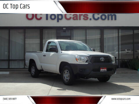 2013 Toyota Tacoma for sale at OC Top Cars in Irvine CA