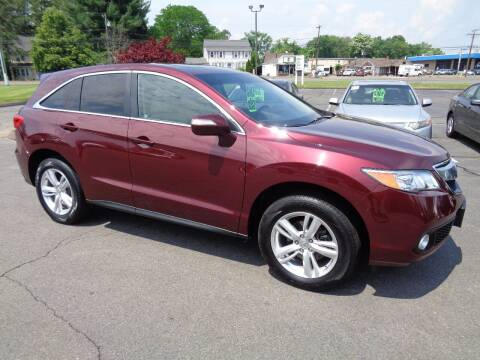 2013 Acura RDX for sale at BETTER BUYS AUTO INC in East Windsor CT