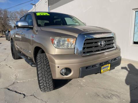 2007 Toyota Tundra for sale at CHURCHILL AUTO SALES in Fallon NV