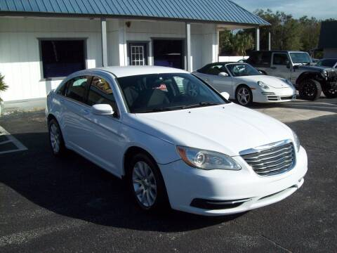 2014 Chrysler 200 for sale at LONGSTREET AUTO in St Augustine FL