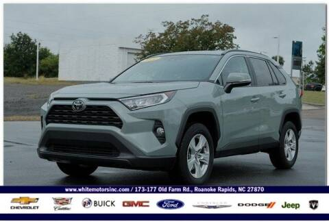 2020 Toyota RAV4 for sale at WHITE MOTORS INC in Roanoke Rapids NC