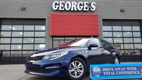2018 Kia Optima for sale at George's Used Cars - Pennsylvania & Allen in Brownstown MI