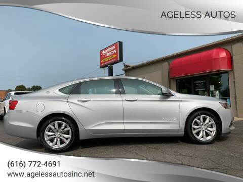 2019 Chevrolet Impala for sale at Ageless Autos in Zeeland MI
