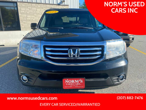 2014 Honda Pilot for sale at NORM'S USED CARS INC in Wiscasset ME