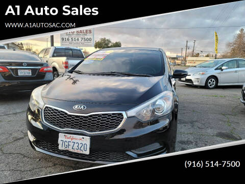 2015 Kia Forte for sale at A1 Auto Sales in Sacramento CA