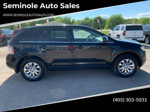 2008 Ford Edge for sale at Seminole Auto Sales in Seminole OK