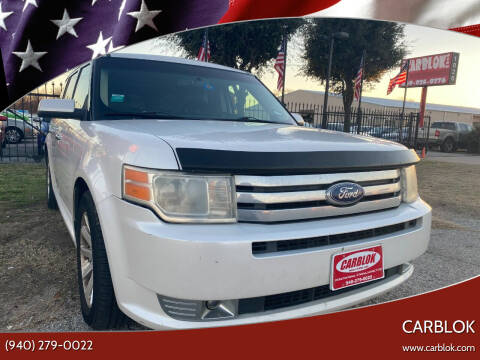 2011 Ford Flex for sale at CARBLOK in Lewisville TX