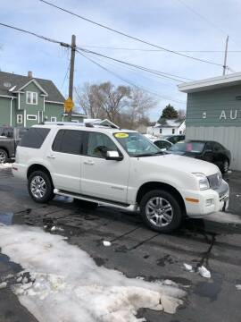 2008 Mercury Mountaineer for sale at SHEFFIELD MOTORS INC in Kenosha WI