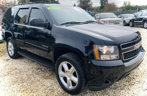 2012 Chevrolet Tahoe for sale at R-D AUTO IMPORTS, Inc in Charlotte NC