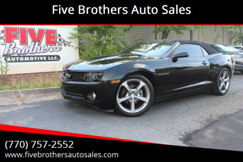 2013 Chevrolet Camaro for sale at Five Brothers Auto Sales in Roswell GA
