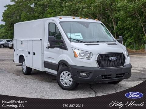 2021 Ford Transit Cutaway for sale at BILLY HOWELL FORD LINCOLN in Cumming GA
