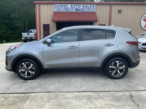 2021 Kia Sportage for sale at Daniel Used Auto Sales in Dallas GA
