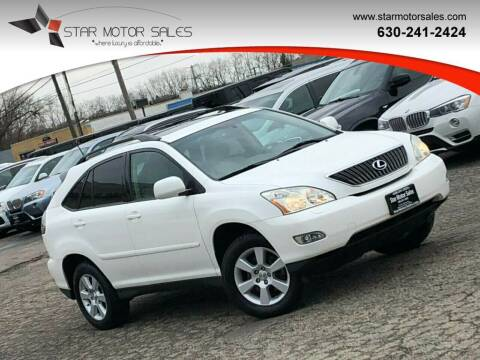 2007 Lexus RX 350 for sale at Star Motor Sales in Downers Grove IL