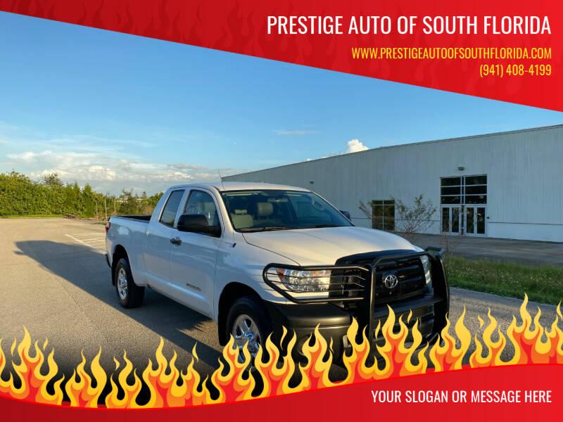 2012 Toyota Tundra for sale at Prestige Auto of South Florida in North Port FL