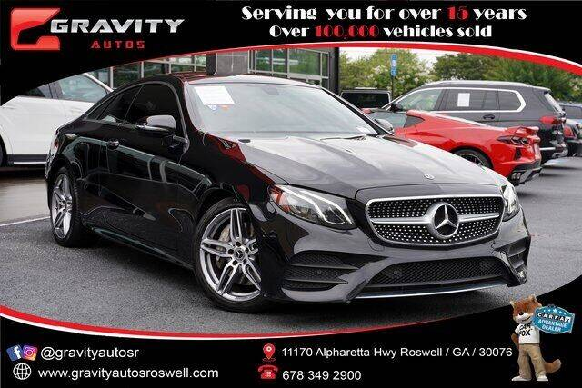 2018 Mercedes-Benz E-Class for sale at Gravity Autos Roswell in Roswell GA