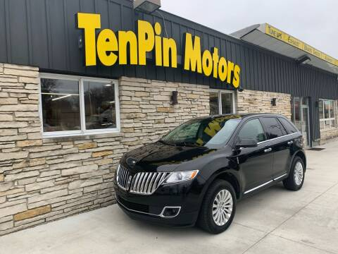 2015 Lincoln MKX for sale at TenPin Motors LLC in Fort Atkinson WI