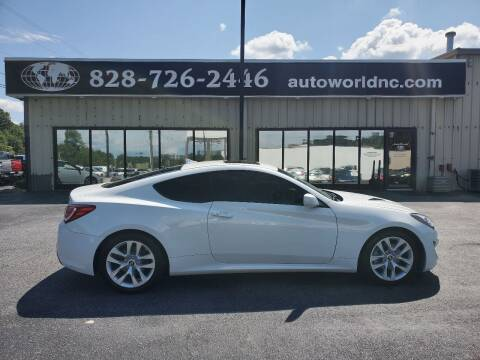 2013 Hyundai Genesis Coupe for sale at AutoWorld of Lenoir in Lenoir NC