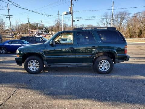 2003 Chevrolet Tahoe for sale at CANDOR INC in Toms River NJ