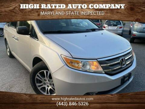 2011 Honda Odyssey for sale at High Rated Auto Company in Abingdon MD