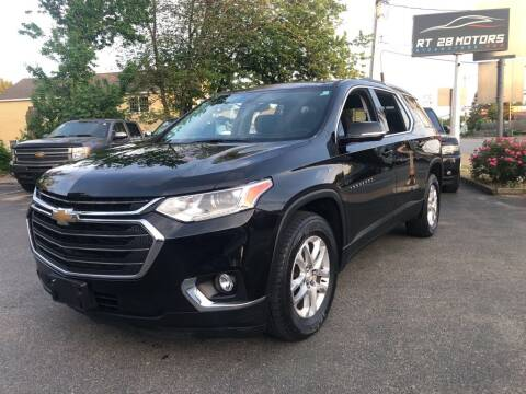 2018 Chevrolet Traverse for sale at RT28 Motors in North Reading MA