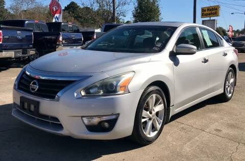 2013 Nissan Altima for sale at Steve's Auto Sales in Norfolk VA