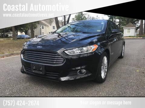 2014 Ford Fusion Energi for sale at Coastal Automotive in Virginia Beach VA