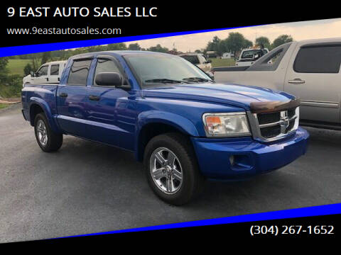 2008 Dodge Dakota for sale at 9 EAST AUTO SALES LLC in Martinsburg WV