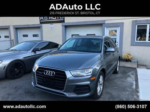 2017 Audi Q3 for sale at ADAuto LLC in Bristol CT