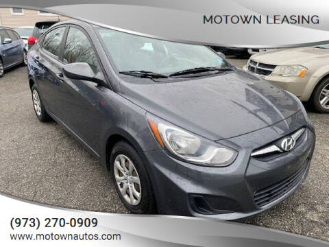 2012 Hyundai Accent for sale at Motown Leasing in Morristown NJ