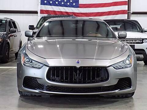 2014 Maserati Ghibli for sale at Texas Motor Sport in Houston TX