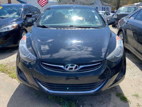 2013 Hyundai Elantra for sale at Advantage Motors in Newport News VA