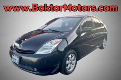 2005 Toyota Prius for sale at Boktor Motors in North Hollywood CA