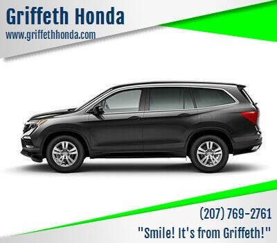 2017 Honda Pilot for sale at Griffeth Honda - Pre Owned in Presque Isle ME