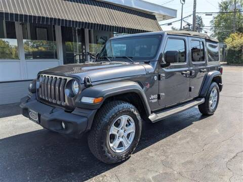 2018 Jeep Wrangler Unlimited for sale at GAHANNA AUTO SALES in Gahanna OH
