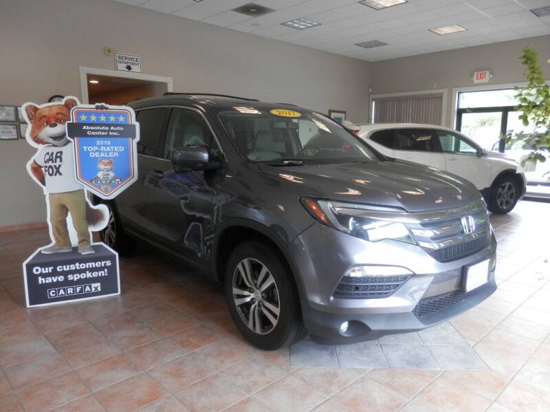 2017 Honda Pilot for sale at ABSOLUTE AUTO CENTER in Berlin CT