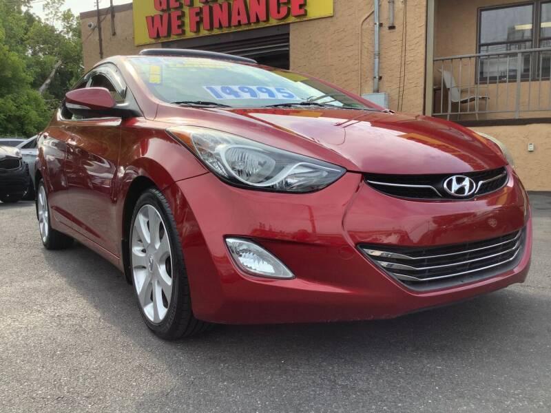 2013 Hyundai Elantra for sale at Active Auto Sales Inc in Philadelphia PA